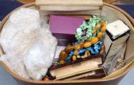 A quantity of costume jewellery, etc