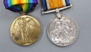 Two WWI medals