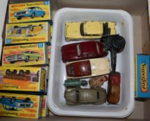 Assorted boxed matchbox covers Mercedes 300 etc