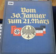 Third Reich books - Olympia 1936, two vols, Kampf um's Dritte Reich, Eine Historische Bilderfolge,