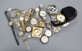 A quantity of assorted wrist watches.