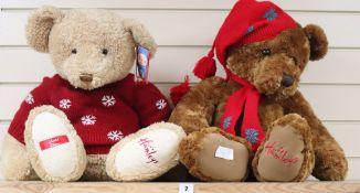 Two Hamleys bears