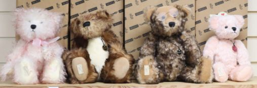 Four Deans bears, limited edition, boxed