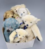Six Deans collectors bears