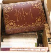 Sixteen books: Edmund Dulac, Cecil Beaton etc