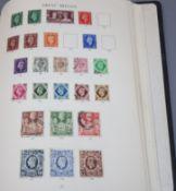 A stamp album