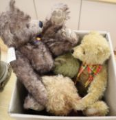 A Norberry bear, two Teddy Herman and one Clements bear