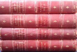 Sloane W. M. Life of Napoleon Bonaparte. 4 vols. Many colour and other plates, quarto, half red