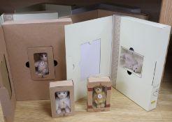Eight Steiff boxed Club bears