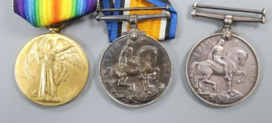 Three WWI medals