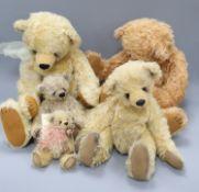 Five Beru bears