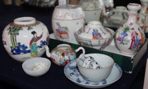 A collection of Chinese ceramics
