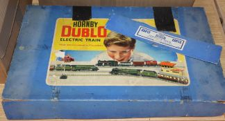 A collection of Hornby Dublo, mostly boxed