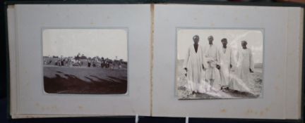 An Edwardian Egypt photo album dated 1902 reputedly from Sir Malcolm Campbell