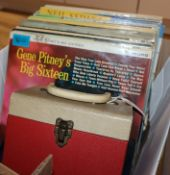 Rock and Pop, a collection of vinyl records, 1960's and later, including 100 plus albums and a