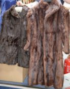 Two fur coats