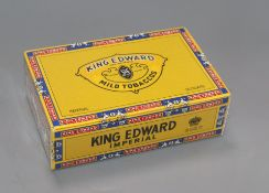 An unopened box of King Edward cigars
