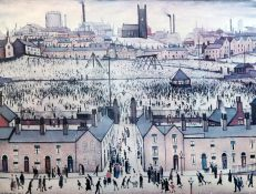 § Laurence Stephen Lowry (1887-1976)limited edition printBritain At Playsigned in pencil and blind