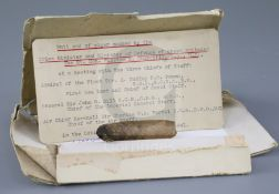 Sir Winston Churchill interest: a 3 inch long half smoked cigar, half smoked by Churchill when Prime