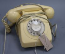 A white BT phone (re-wired)