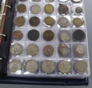 A quantity of commemorative medals and a collection of British and Commonwealth coins
