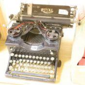 A vintage Royal typewriter