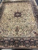 A Tabriz carpet Approx. 360 x 270cm