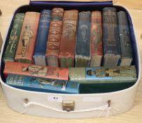 Twelve books by G Henty