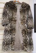 A Lynx fur coat