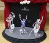 A Swarovski Crystal Annual Edition 'Magic of Dance' trilogy and a boxed 'Home Display' theatre,