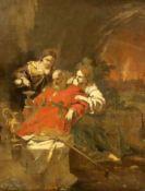18th century Flemish Schooloil on canvasBiblical scene40 x 32cm