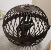 A whaler's oil lamp