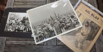 Frank Brangwyn (1867-1956), a group of three small prints, signed and titled in pencil and with