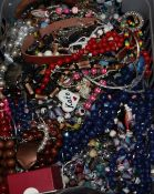 A group of assorted costume jewellery