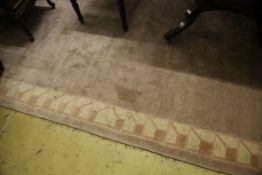 A Tibetan carpet, 300 x 200cm
