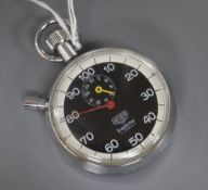 A Tag Heuer stopwatch