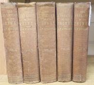 Invasion of Crimea, vols 1, 2 (2), 3 and 4