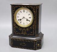 A Henry Phillips of Paris mantel clock, height 25cm