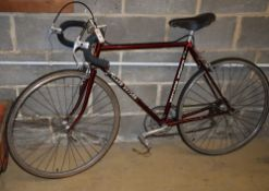 """A vintage Claud Butler """"olympic"""" racing bicycle"""