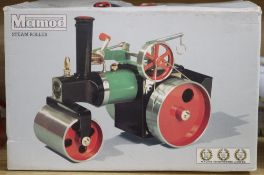 A boxed Mamod Steam Roller
