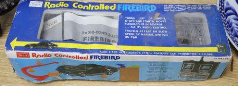 A Sears Radio-controlled Firebird, boxed