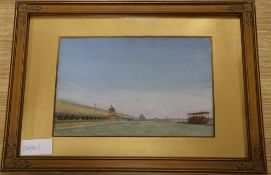 C. Walker, watercolour, view of Brighton seafront 1896, signed 17 x 27cm