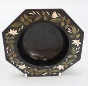 A 19th century Derbyshire pietra dura bowl