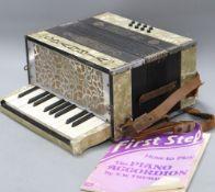 A Glasvia piano accordion