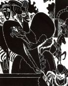 § Edward Burra (1905-1976)artists proof woodcut on Japan laid paperMary Queen of Scots, 1971 from