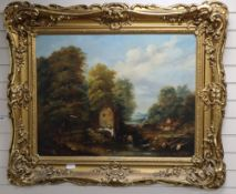 William Frederick Witherington, oil on canvas, Derbyshire landscape, 70 x 90cm