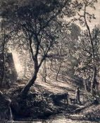 Samuel Palmer (1805-1881)etchingThe Herdsman's Cottage, 1850 Lister 3, 2nd state, CoA from William