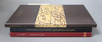 Ivory Treasures from the Museum of Islamic Art, Qatar by Miriam Rosser-Owen Qatari 20th century