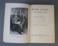 Taylor, Griffith - With Scott: The Silver Lining, 1st edition, 1st issue, 8vo, original buckram with
