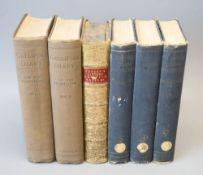 Hamilton, Ian Sir - Gallipoli Diary, 2 vols, 8vo, cloth, London 1920; Creasy, Edward Sir - The